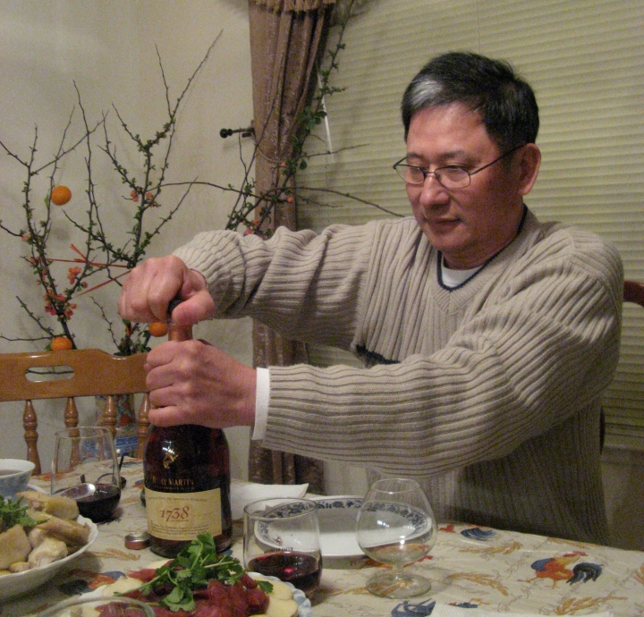 """I had my first drink at the age of twelve. Besides reading the newspaper, this is one of his favorite things in the world. He does not go a dinner without this kind of """"dietary supplement."""""""