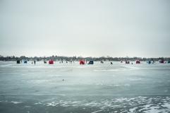 Ice Fishing at Brittingham-6