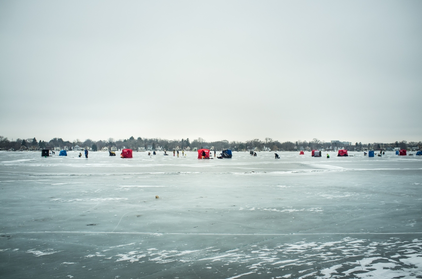Ice Fishing at Brittingham-6