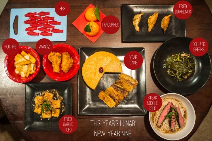 Lunar New Year Dinner Map